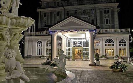 Luxusní Silvestr v 5 * hotelu na 4 dny pro dva vv Mariánských Lázních.