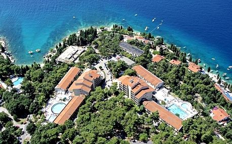 Chorvatsko - Rabac na 2-17 dnů