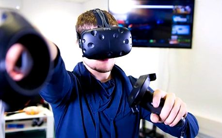 120 minut virtuální reality na narozeninové oslavě až pro 15 hráčů