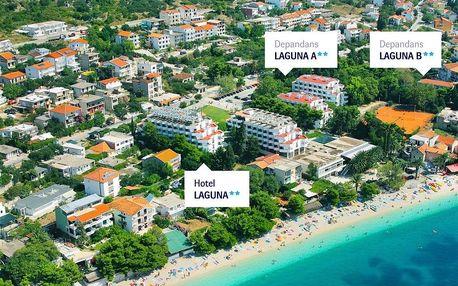 Chorvatsko - Gradac autobusem na 10-17 dnů, polopenze