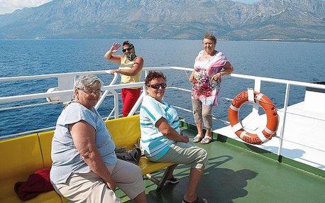 Chorvatsko - Gradac autobusem na 10 dnů, polopenze