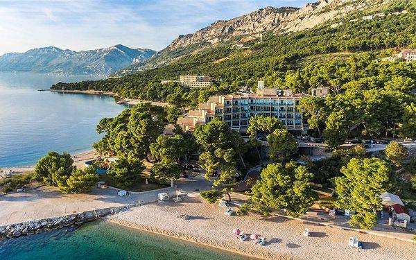 Hotel BLUESUN SOLINE, Chorvatsko, Střední Dalmácie, Brela, Střední Dalmácie, autobusem, snídaně v ceně2