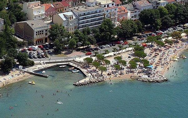 Hotel ZAGREB, Chorvatsko, Kvarner, Crikvenica, Kvarner, vlastní doprava, snídaně v ceně2