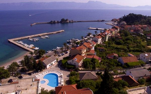 Hotel FARAON, Chorvatsko, Jižní Dalmácie, Trpanj, Jižní Dalmácie, vlastní doprava, snídaně v ceně2