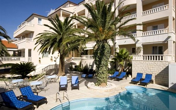 Hotel LAURENTUM, Chorvatsko, Střední Dalmácie, Tučepi, Střední Dalmácie, autobusem, snídaně v ceně2