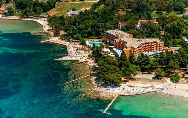 Residence SOL UMAG, Chorvatsko, Istrie, Umag, Istrie, vlastní doprava, snídaně v ceně3