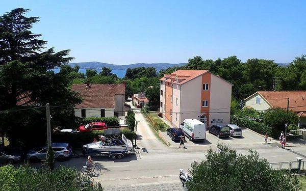 Penzion PIKOLO, Chorvatsko, Severní Dalmácie, Sv. Filip i Jakov, Severní Dalmácie, letecky, polopenze3