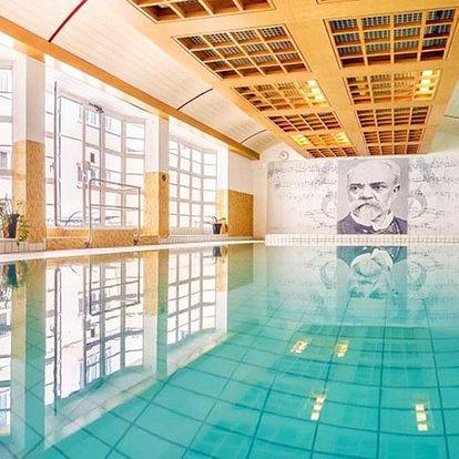 Karlovy Vary v hotelu s balíčkem procedur, pitnou kúrou a polopenzí + wellness a fitness neomezeně