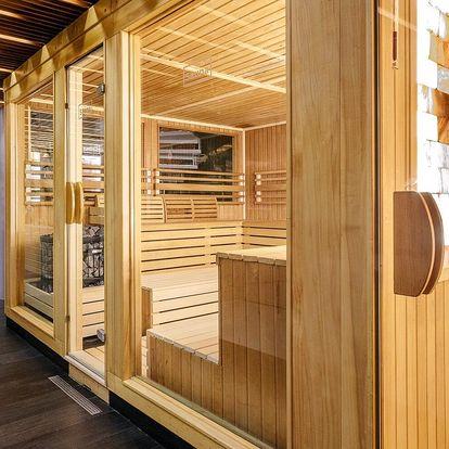 90minutový vstup do nového saunového centra