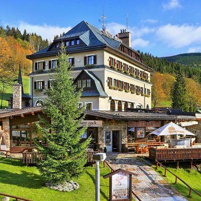 Hotel Praha **** ve Špindlu s wellness a polopenzí