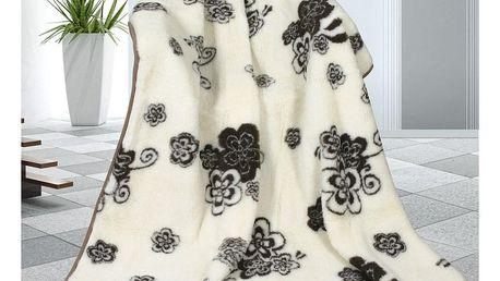 Bellatex Vlněná deka Tomar, 155 x 200 cm