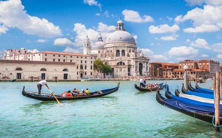 Romantické Benátky a Verona na 4 dny s ubytováním v 3* hotelu a snídaní