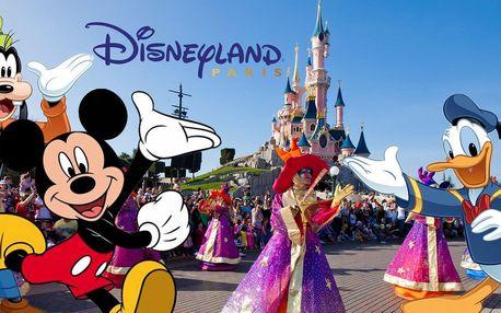 Zájezd do Paříže a Disneylandu s ubytováním v hotelu se snídaní