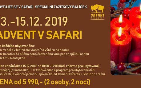 Advent v Safari v Borovanech