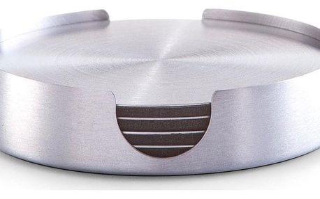Podložka pod sklenice, nerezová ocel - 6 ks, ZELLER