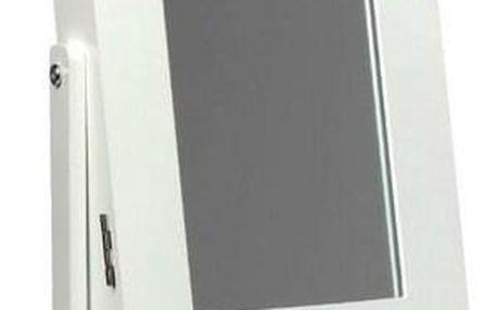 Stolní šperkovnice se zrcadlem 21x15x35 cm