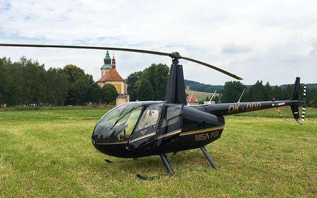 Vyhlídkový let ve vrtulníku R44