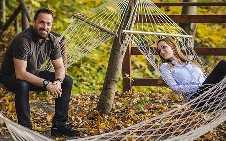 Relax v přírodním wellness s ubytováním pro dva