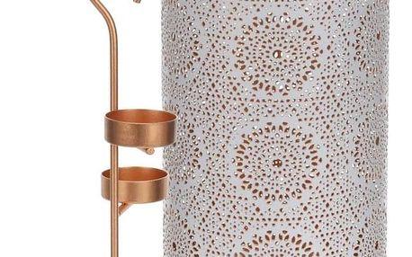 Home Styling Collection Stojan na čajové svíčky, lampion 30 cm