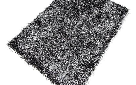 Koupelnová předložka Rasta Micro New černá 70x140