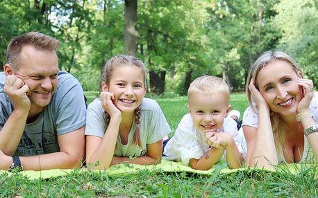 Focení v exteriéru pro páry, jednotlivce i rodiny