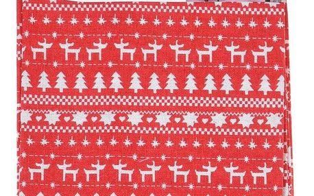 Home Styling Collection Vánoční běhoun X-MASS, 40 x 180 cm