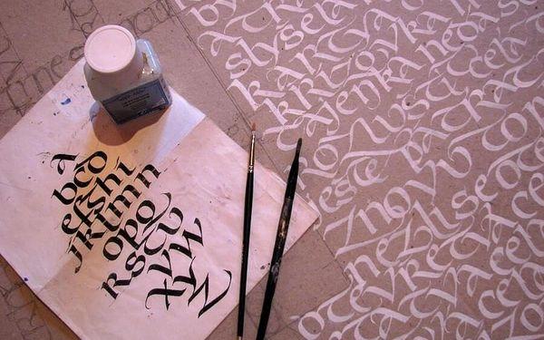 Kurz kaligrafie pro dva
