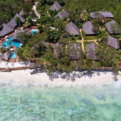 Zanzibar - na 8 až 9 dní, snídaně s dopravou letecky z Prahy