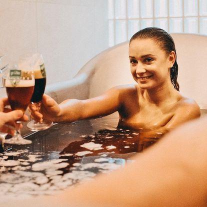 1denní relax v pivních lázních a wellness pro dva
