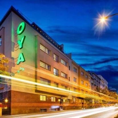 Víkendový pobyt přímo v centru Prahy v elegantním Hotelu Oya *** se snídaněmi