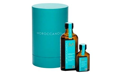 Moroccanoil Treatment dárková kazeta pro ženy olej na vlasy 100 ml + olej na vlasy 25 ml