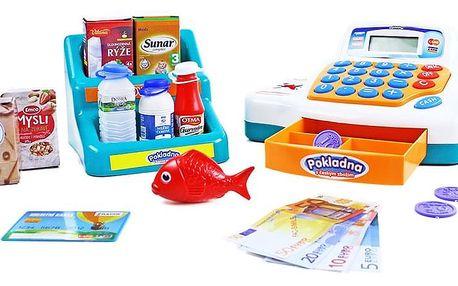 Rappa Dětská pokladna s dětským zbožím