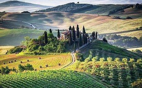 Itálie - Toskánsko letecky na 5 dnů, polopenze
