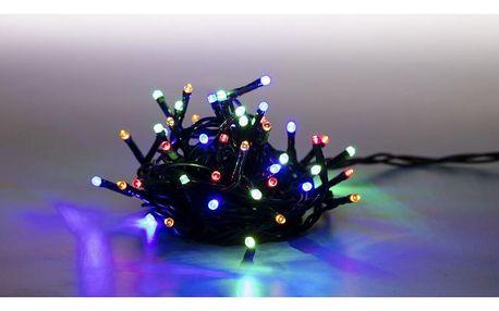 Řetěz světelný 400 LED 20 m - barevná - 8 funkcí