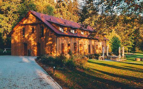 Nádherný penzion v přírodě s polopenzí i wellness