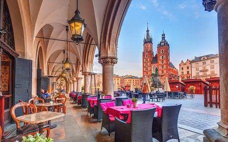 Krakov: Dovolená přímo v historickém centru v Hotelu Fortuna *** se snídaní