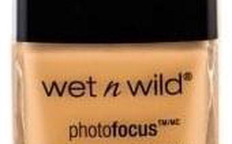 Wet n Wild Photo Focus 30 ml vysoce krycí rozjasňující make-up pro ženy Golden Beige