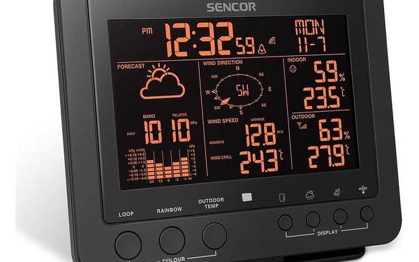 Sencor SWS 9700 Profesionální meteostanice s bezdrátovým senzorem 5v13