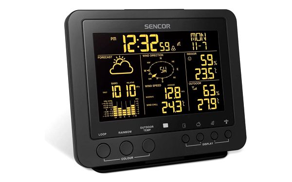 Sencor SWS 9700 Profesionální meteostanice s bezdrátovým senzorem 5v14