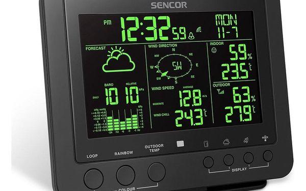 Sencor SWS 9700 Profesionální meteostanice s bezdrátovým senzorem 5v15