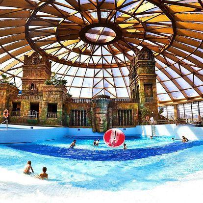 Pobyt v Budapešti: polopenze a neomezený vstup do aquaparku