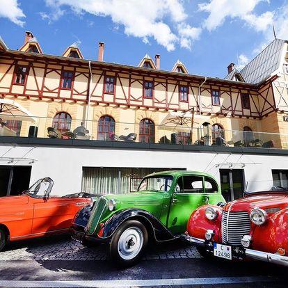 Historický hotel s wellness a výhledem na Lomnický štít