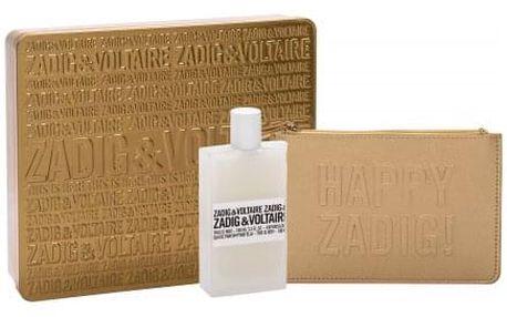 Zadig & Voltaire This is Her! dárková kazeta pro ženy parfémovaná voda 100 ml + kosmetická taška