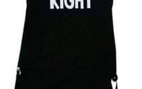Šik v kuchyni Pánská zástěra s otvírákem Mr. Right, 22,5 x 75 cm