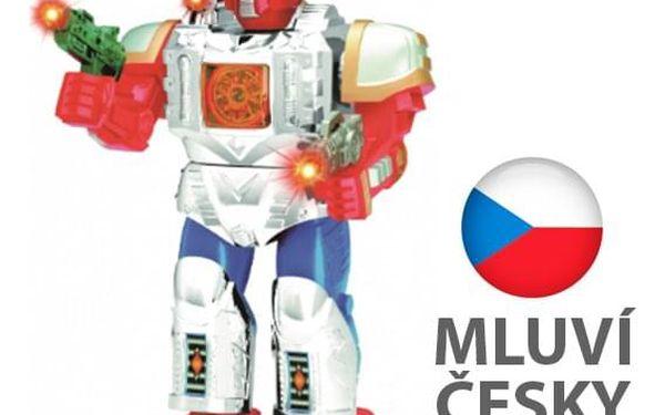 HIT! Robot chodící, česky mluvící