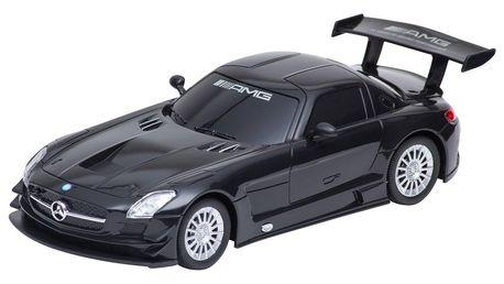 Buddy Toys BRC 24.060 Auto na dálkové ovládání Mercedes-Benz SLS, černá