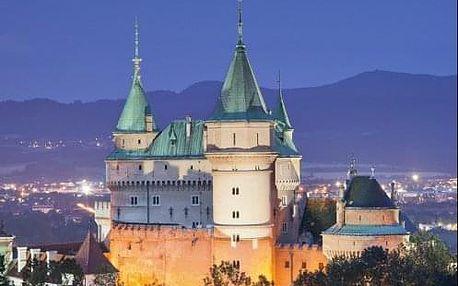 Lázeňské Bojnice - Ozdravný pobyt (nejen) pro seniory v hotelu Regia kousek od zámku a lázní