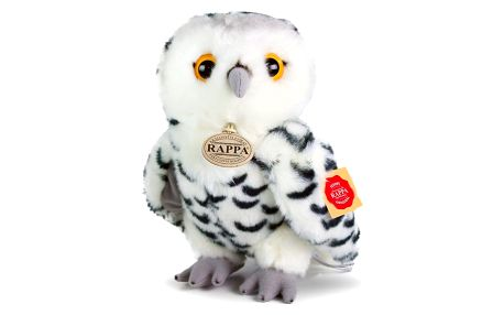 Rappa Plyšová sova bílá, 25 cm