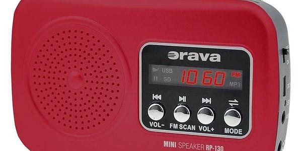 Orava RP-130 R přenosný radiopřijímač5