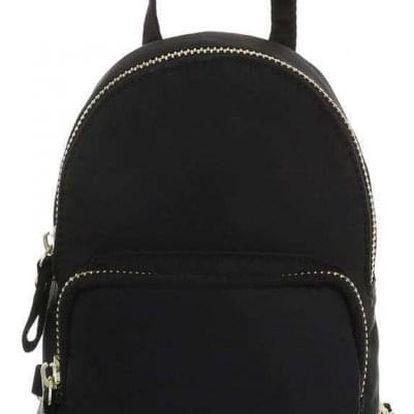 Dámský černý batoh Punto 2160